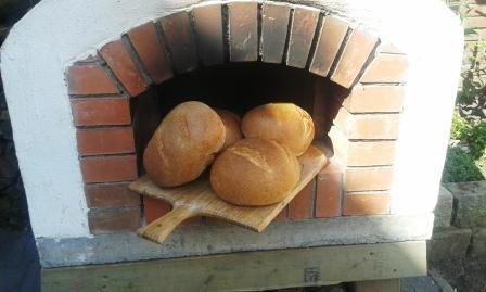 pizza oven buiten