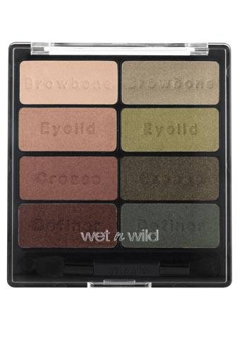 Wet n Wild Color Icon Eyeshadow Collection, Comfort Zone (Dark Autumn leaning to Warm Autumn)