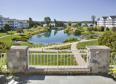 Osthoff Resort in Elkhart Lake, WI - went here for our 2 year anniversary in January 2011.