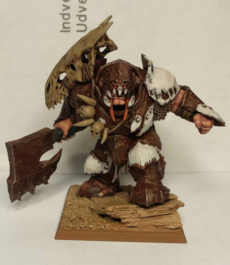 Age of Sigmar | Orruks Megaboss conversion Ogre Tyrant #warhammer #ageofsigmar…