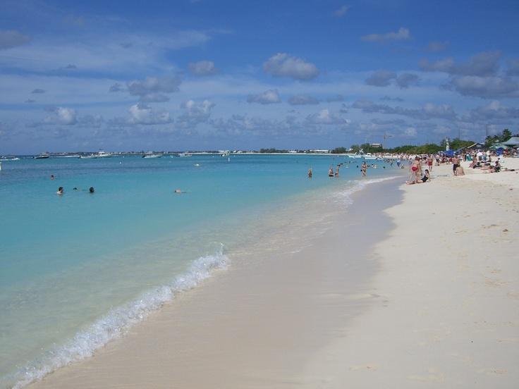 7 mile beach in Grand Cayman.