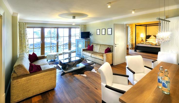 Palace Suite 1 Stock im Wellnesshotel Alpine Palace in Saalbach Hinterglemm