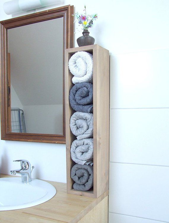 Badregal Towel Holder Towel Rack Handtuchregal