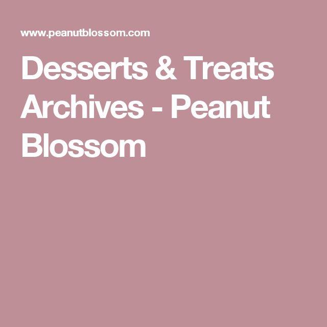Desserts & Treats Archives - Peanut Blossom