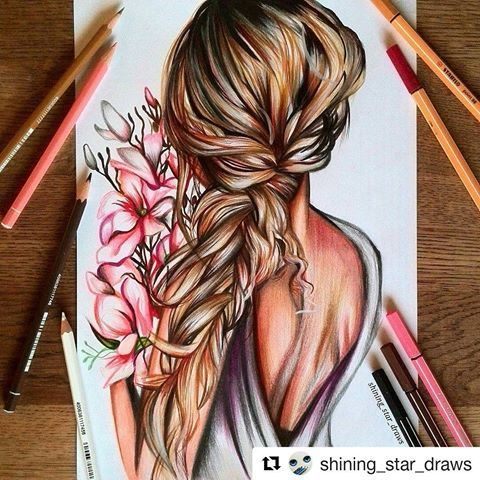 Perfeita​! #Repost @shining_star_draws with @repostapp  Hairstyle,What do you think? Comment belowPencils I used: Stabilo original and Stabilo pen 68Thank you all for your lovely comments and tysm for 271k! . #ilustração   #art #artwork #artist #stabilo #drawing #draw #fashion #pencils #hair #hairstyle #girl #girly #colorful #colour #artistic #gallery #colors #arts_help #flowers #artlife #instaartist