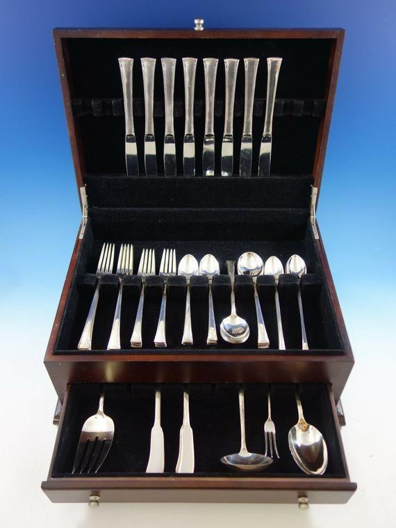 Sterling Silver Flatware International Serenity Salad Fork