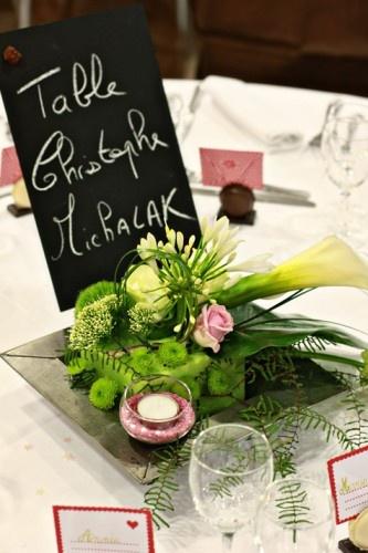 mariage centre de table, wedding table flower arrangement, french florist creation