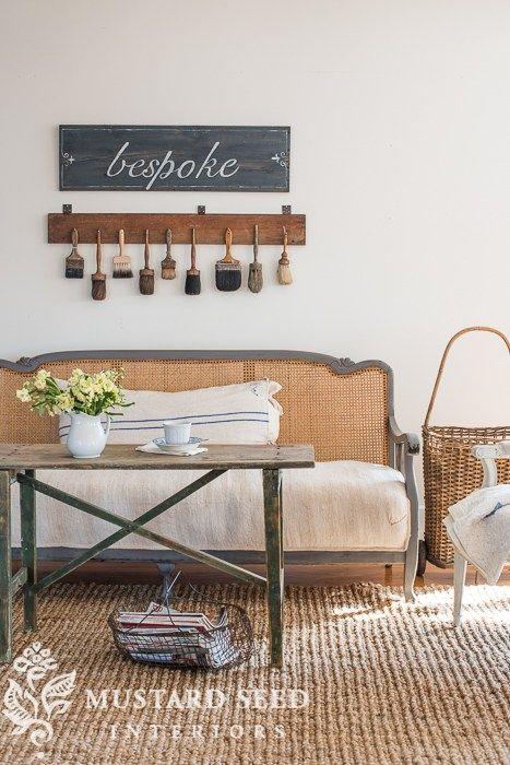 farmhouse style sofas - Miss Mustard Seed