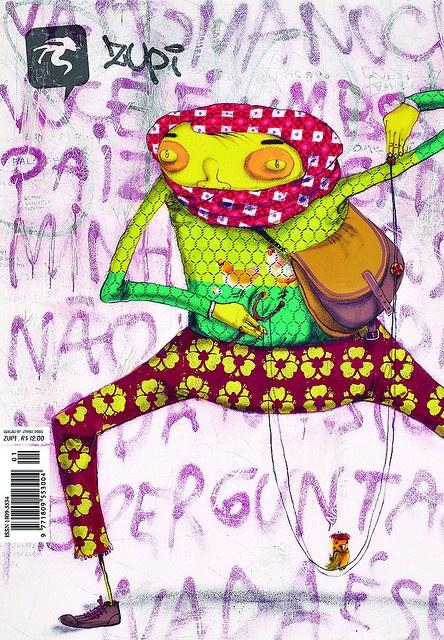 Zupi cover #01 by Zupi Design, via Flickr