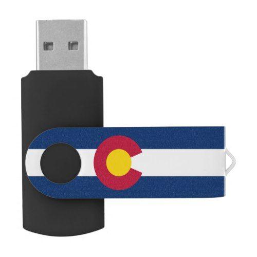 Flag of Colorado Flash Drive