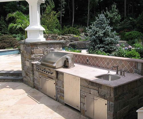 Start preparing now for a custom outdoor kitchen and patio you would like to enjoy this Summer   Flickr - Photo Sharing!