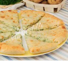 Осетинский пирог с картофелем и сыром, рецепт с пошаговыми фото