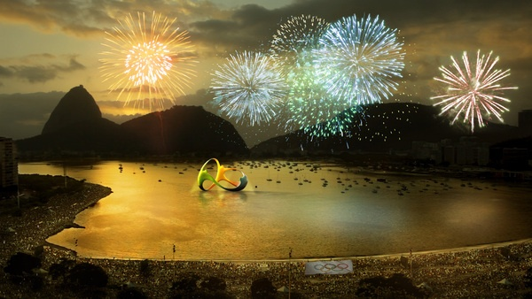Rio 2016 by Tátil Design de Ideias , via Behance