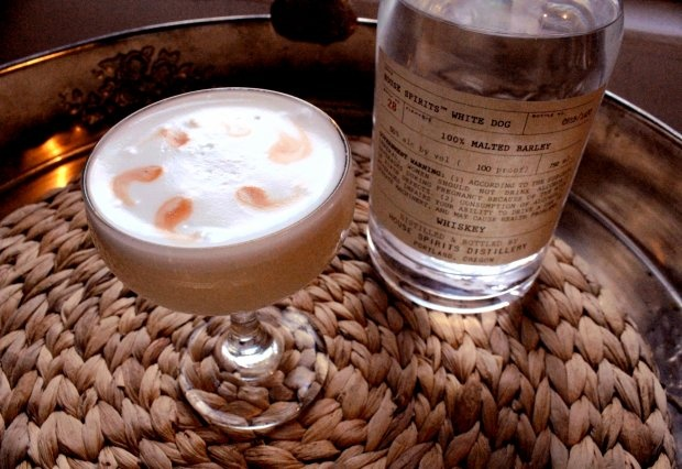 White Dog Sour Recipe: The unexpected pleasures of raw whiskey