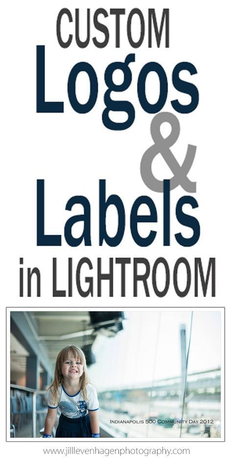 Custom Logos & Labels (yes, type right on the photo) – a Lightroom Tutorial