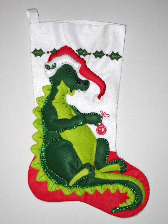 79 best Christmas Stockings & Skirts images on Pinterest ...