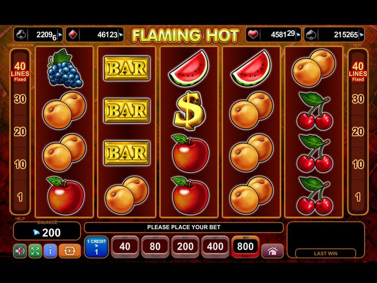 Free Flaming Hot Slot Online Play Now!