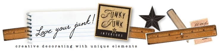"Funky Junk Interiors--""junk"" made to look adorable in home! alot of pallet crafts"