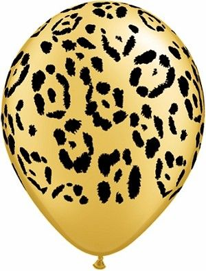 "Leopard Print 11"" Balloons"