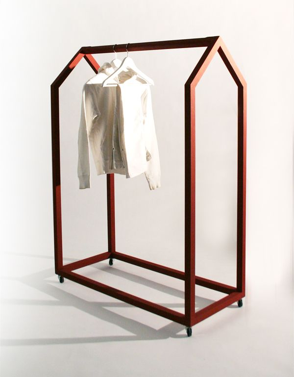 Clothing House by Olga Giertz.: Decor Ideas, House Design, Clothing Racks, Clothing House, Giertz Clothing, Olga Giertz, Interiors Design, Design Home, Ola Giertz
