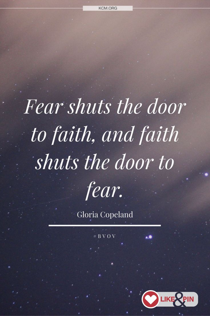 Replace fear with faith! | BVOV Broadcast | Religious ...