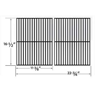 Grillpartszone- Grill Parts Store Canada - Get BBQ Parts,Grill Parts Canada: Ellipse Cooking Grid | Replacement 2 Pack Porcelai...