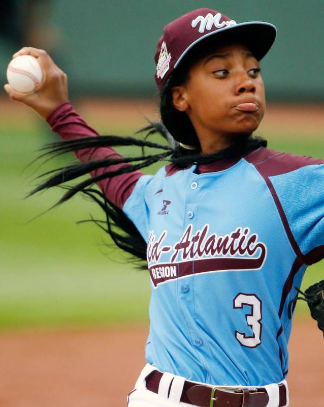 On Friday night, Davis made Little League World Series history when she became the first female pitcher in 67 years to throw a total shutout.