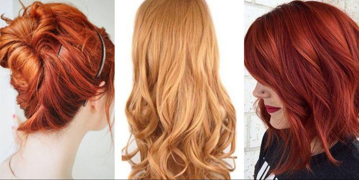 Bakır kızılı ve diğer kızıl saç renkleri 2017