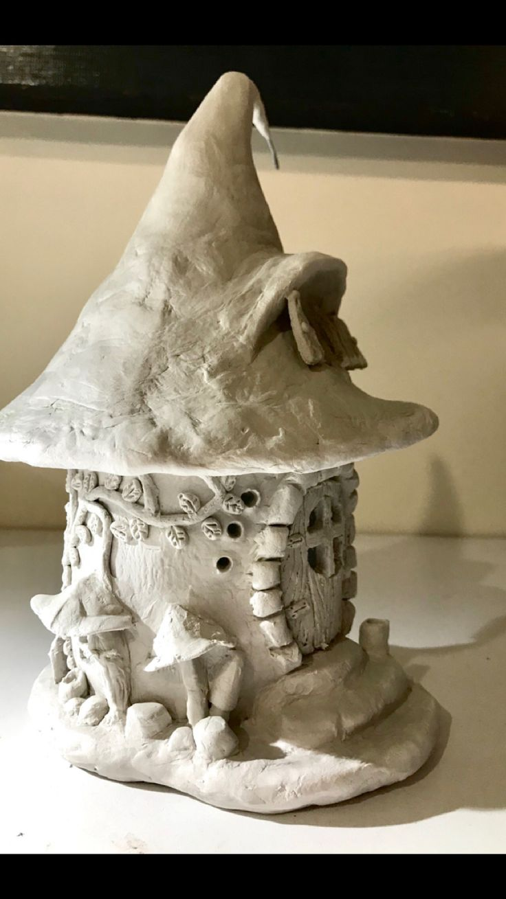 1751 Best Polymere Clay Fairy Houses Images On Pinterest