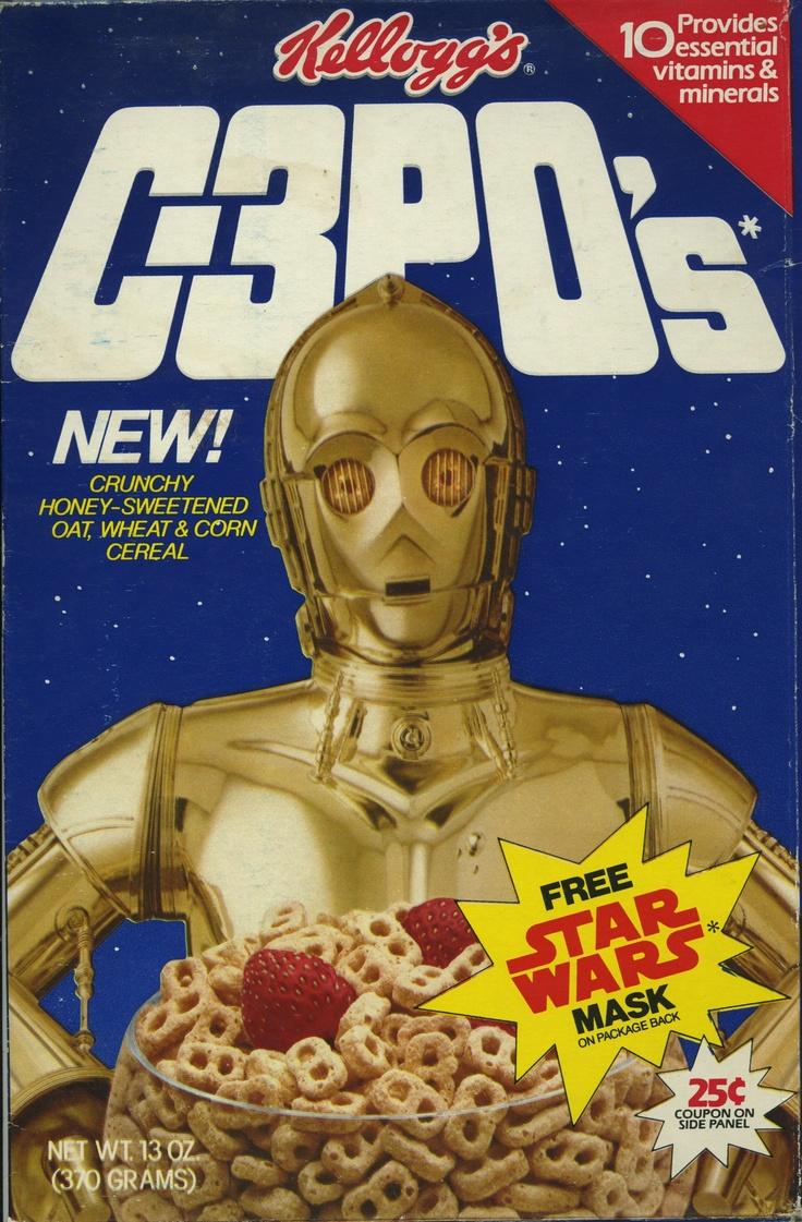 C-3PO's ©1984 Kelloggs USA