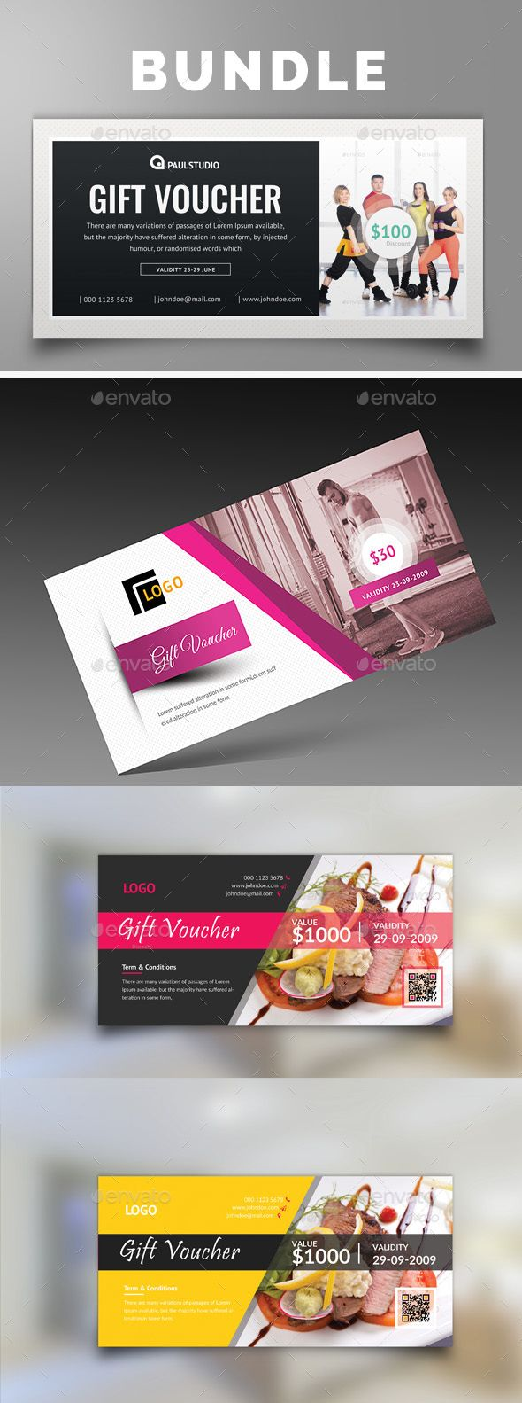 9 best gift card design images on pinterest gift cards gift gift bundle by paulresume yadclub Images