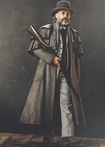"Dr. King Schultz (Christoph Waltz) de ""Django Unchained"""