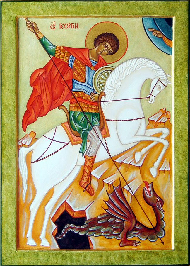 Saint Georges et le dragon