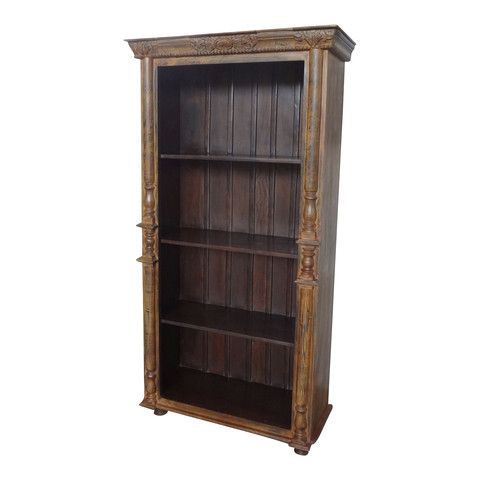 The Garrison Bookshelf is a solid wood bookshelf perfect to showcase your books and trinkets.