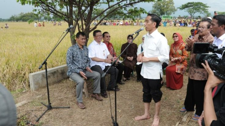 Jokowi dan Budaya Indonsia - 10 Prestasi Jokowi Terhadap Budaya Indonesia #SeninBerbudaya5 - Sumber Gambar presidenri.go.id