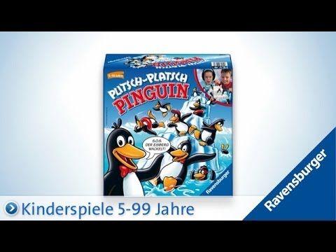 Ravensburger Plitsch-Platsch Pinguin - YouTube