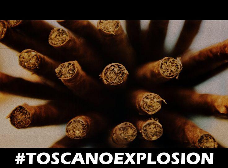 #toscanoexplosion #toscano #cigars #cigaraficionado