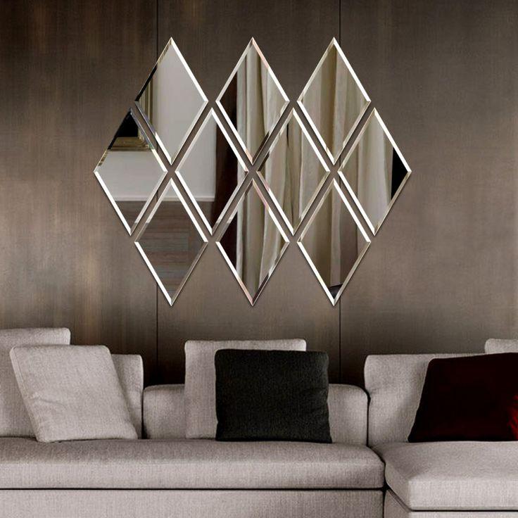 Wood Wall Design, Wall Decor Design, Wall Clock Design, Mirror Decor Living Room, Diy Bedroom Decor, Double Bed Designs, Wardrobe Door Designs, Living Room Tv Unit Designs, Room Partition Designs