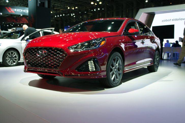 2018 Hyundai Sonata Red Image