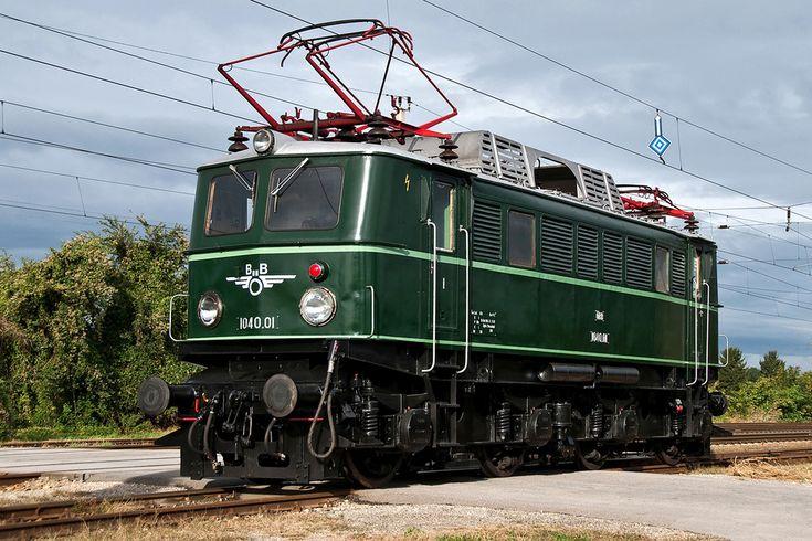 Elektrische lokomotive Br 1040 ser Österreichische Bundesbahnen