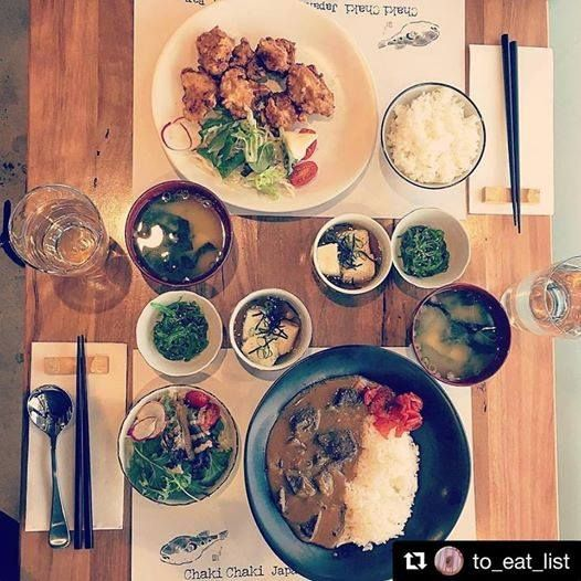 The food at Chaki Chaki looks so delicious! ...Let's face it, as Canberran's we LOVE to try a new restaurant, and a bachelorette/ hens party is the perfect opportunity!
