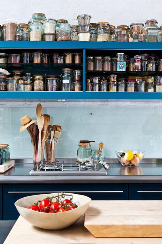 Look! Spices Stored in Weck Jars — Kitchen Inspiration