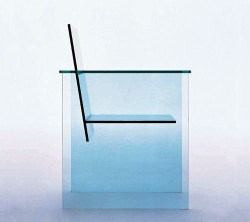 Shiro Kuramata - Glass Chair - 1976