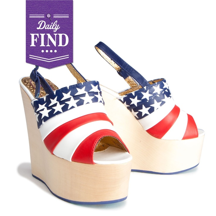 by Irregular Choice  Liberty Platform - Daily Find