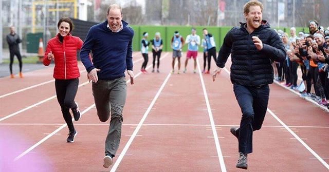 Kate Middleton Prince William and Prince Harry race for charity #ellevn #ellevietnam #ellenews  via ELLE VIETNAM MAGAZINE OFFICIAL INSTAGRAM - Fashion Campaigns  Haute Couture  Advertising  Editorial Photography  Magazine Cover Designs  Supermodels  Runway Models