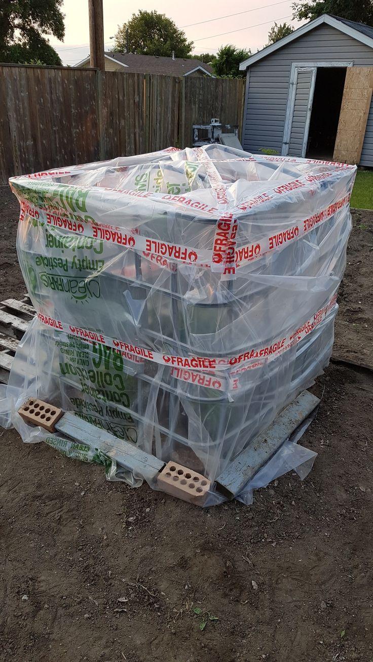 DIY Greenhouse Saskatchewan style