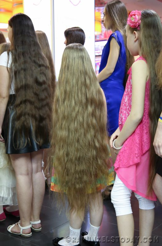 Rapunzels Today - Longest hair Dnepropetrovsk 2015 | Only ...