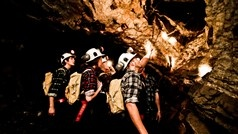 Gear up in overalls, a miner's hat and lamp and head into underground tunnels in search of gold in a key mine from Bendigo's 19th century gold rush.