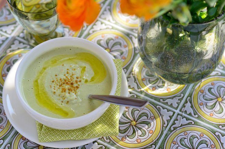 Soupe de chou romanesco au curry le vitaliseur de marion - Cuisiner le chou romanesco ...