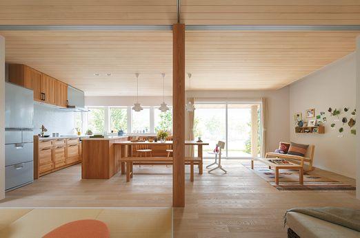 MJ Wood Season n|MJウッド|ミサワホームの耐震木造住宅 MJWood